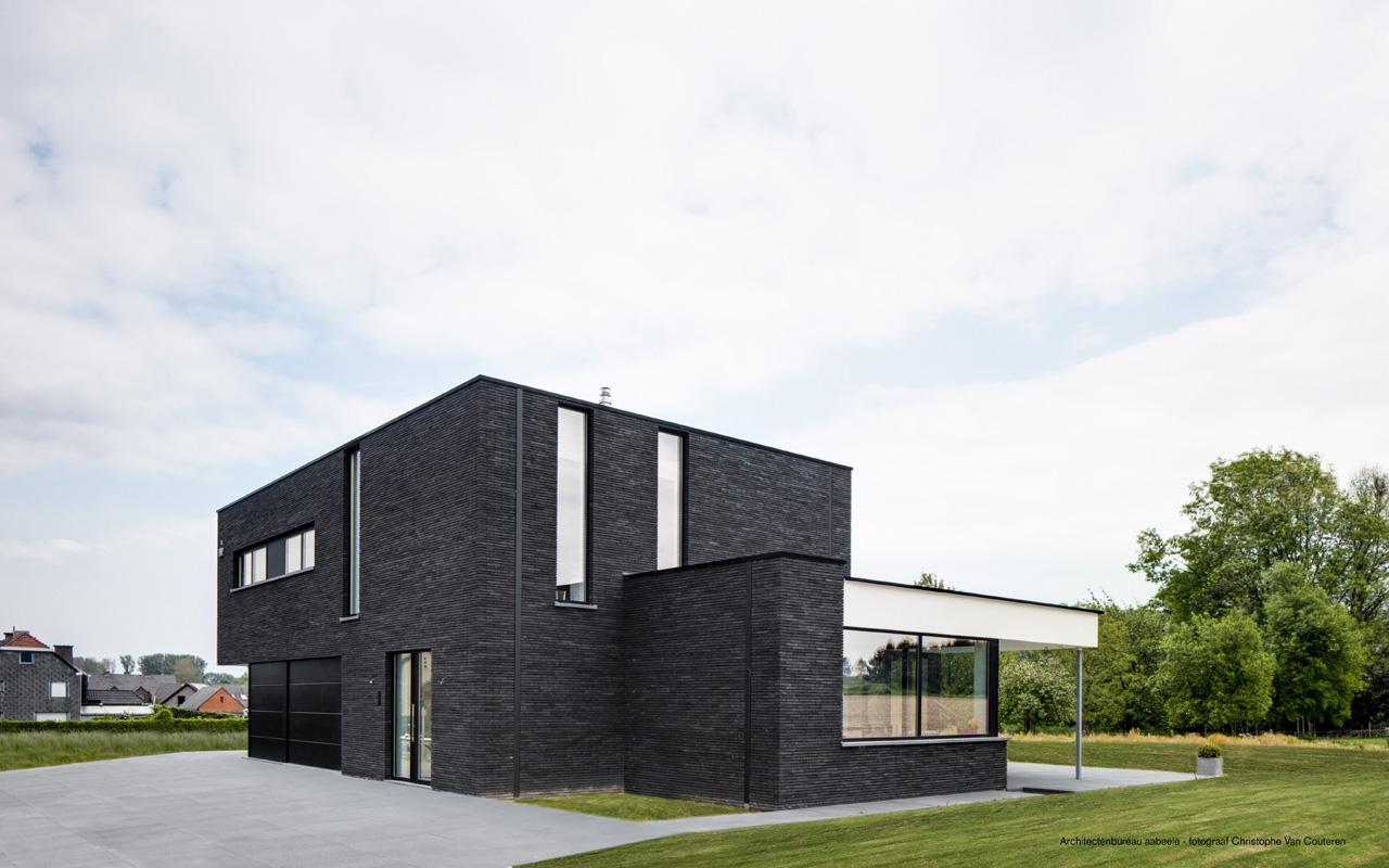 Casa privata D'hooghe - Aabeele realizzata con la membrana impermeabile Aquatop