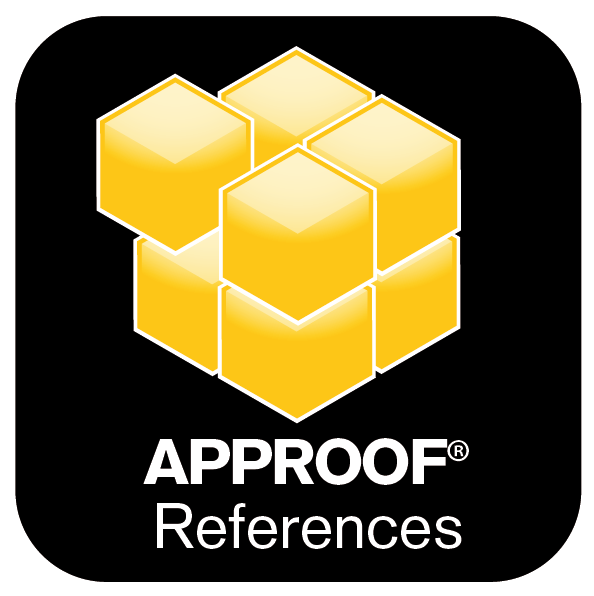 Approof References logo